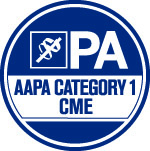 AAPA Category 1 CME logo